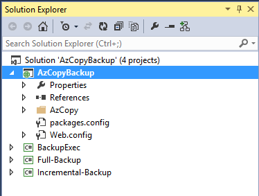Automating Backups with Azure WebJobs & AzCopy | mark j brown